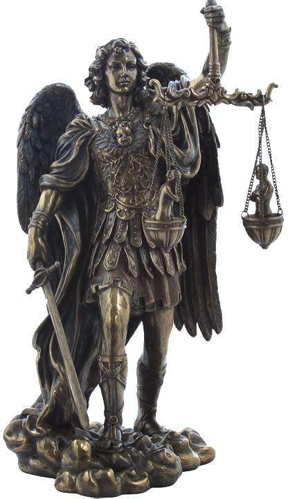 michael weighing souls sculpture en 2018 christian