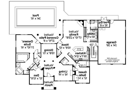 Tuscan Floor Plans by Tuscan House Plans Meridian 30 312 Associated Designs