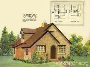 English House Plans Radford House Plan English Cottage Style 1925 Radford