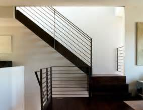 black handrails for stairs modern handrails adding contemporary style to your home s