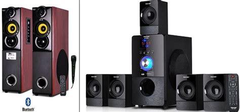 cool tv speakers affordable gramercy tv stand walnut u