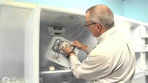 refrigerator repair replacing the defrost timer