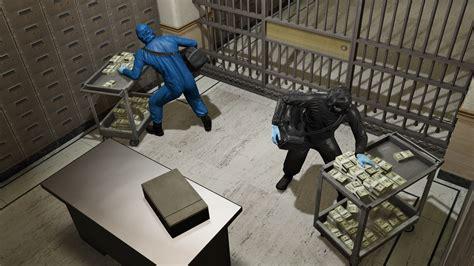 v bank gta 5 s heist bonuses roles and challenges
