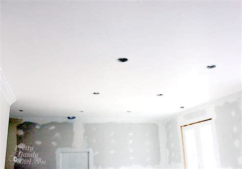 Smooth Ceiling by Painting Ceilings Like A Pro Pretty Handy