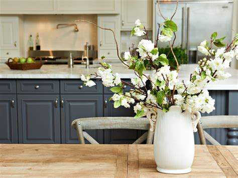 where to buy blue kitchen cabinets 10 ways to declutter the dining or kitchen table hgtv