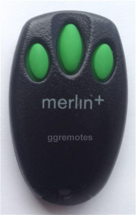 Merlin Garage Door Opener Remote Not Working Merlin C945 Original Remote Garage Gate
