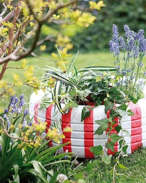 garden decoration ideas homemade diy garden decorations colourful ideas with flowers and