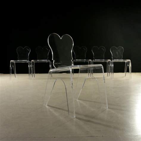 sedia in plexiglass sedie in plexiglass anni 80 sedie modernariato
