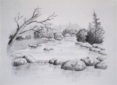draw landscapes in colored pencil the ultimate step by step guide books class intro to landscape drawing paint