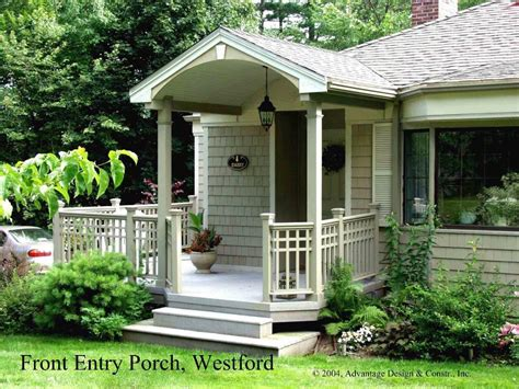 simple portico for clapboard sided home designed by georgia front porch porticos with curb inexpensive front porch ideas pilotproject org