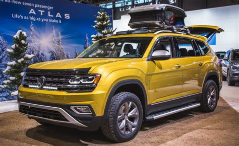 volkswagen atlas 2017 volkswagen previews accessories with atlas weekend edition