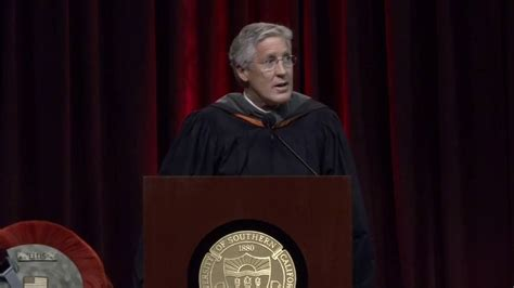 Usc Mba Visit by Pete Carroll Usc Commencement Speech Usc Marshall School