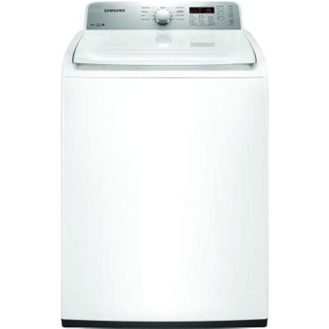 samsung 4 0 cu ft high efficiency top load washer in