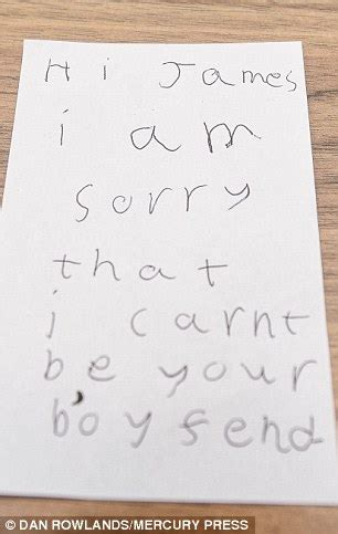 Rejection Letter Ross Boy Who Asked Out Breaker Best Friend Is Given A Touchingly Rejection Letter Daily
