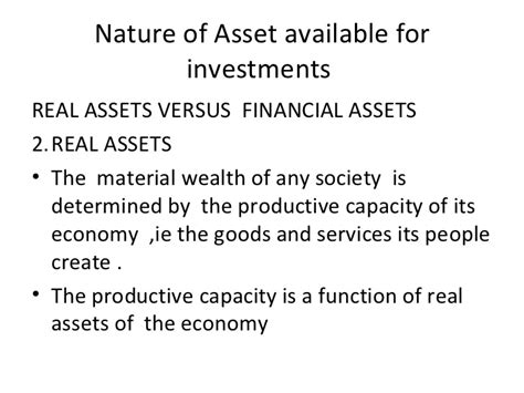 Mba Realty And Investments by Lecture One 31 03 2010thursday On Investment Analysis Mba 2