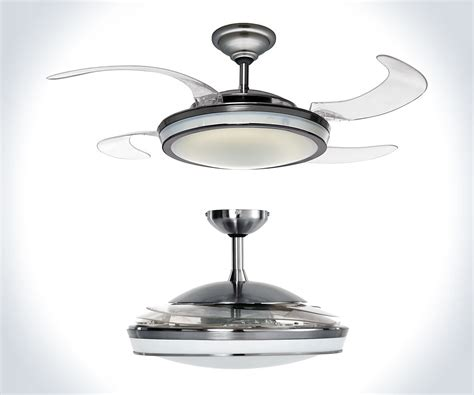 ceiling fan with fans as blades fan retractable blade ceiling fan dudeiwantthat com