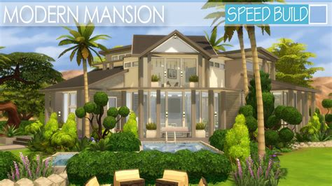 the sims 4 speed build dillan s modern beach home youtube the sims 4 house building modern mansion speed build