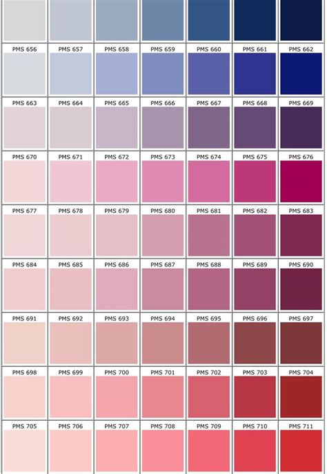 pantone color pallete pantone color chart palettes pinterest pantone color