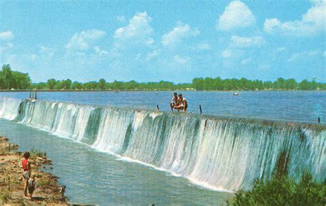 vintage travel postcards indian lake ohio