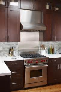stainless steel oven backsplash stainless steel range