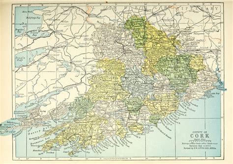 county cork ireland map file baronies of cork jpg wikimedia commons