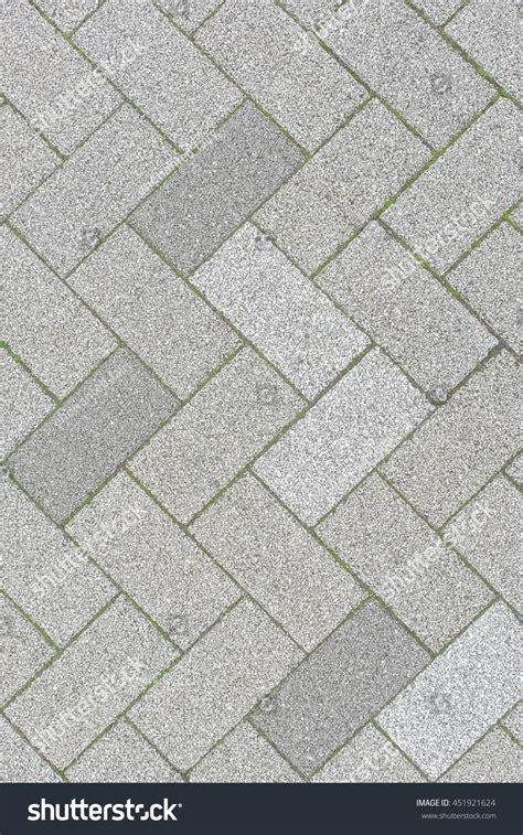 stock pattern viewer brick pavement japanese footpath pattern top stock photo