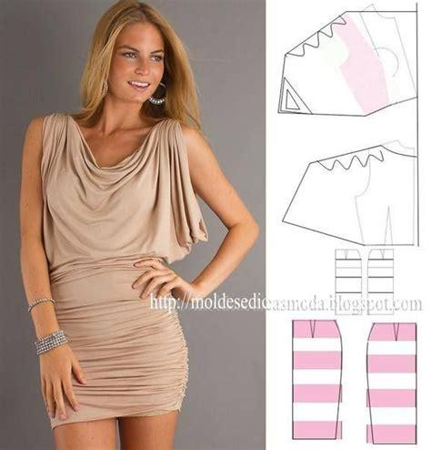 draped dress pattern 252 best images about moldes de vestidos on pinterest