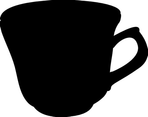 cup silhouette png english porcelain cup clip art at clker com vector clip