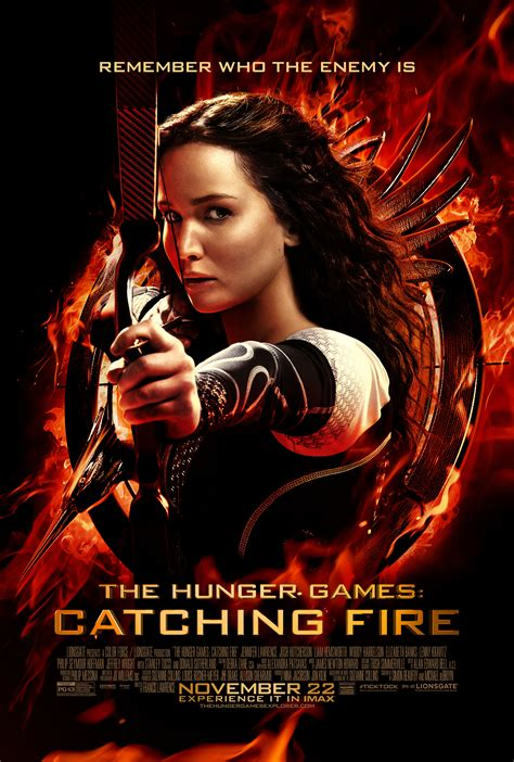 hunger games the hunger games catching fire poster starring jennifer