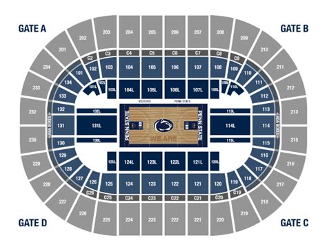 bryce center detailed seating chart bryce center seating brokeasshome