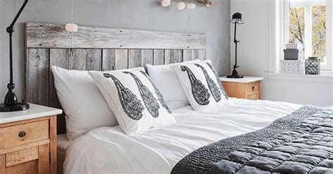 rustic white headboard rustic white washed pallet headboard bed frames