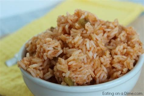 printable spanish recipes easiest spanish rice recipe eating on a dime