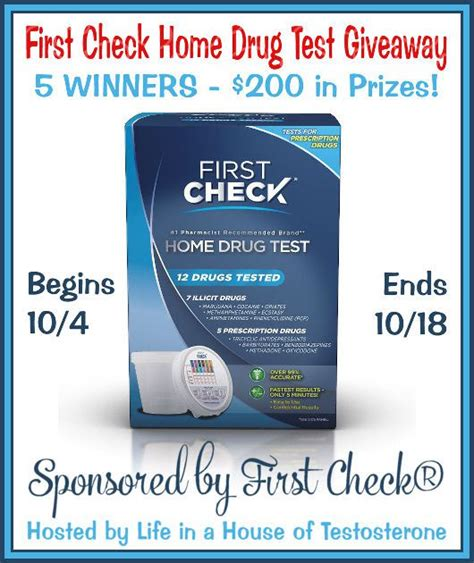 check home test giveaway 2016 saralee s deals
