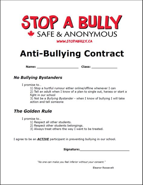 Bullying Worksheets by Stop A Bully Resources Anti Bullying Lesson