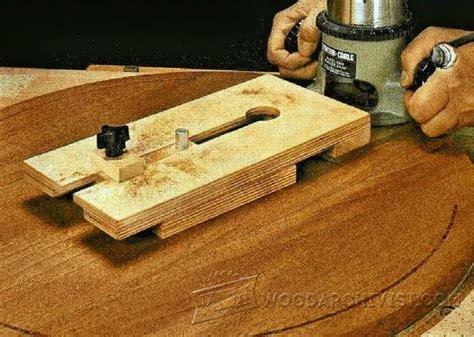 trammel woodworking router trammel jig plans woodarchivist