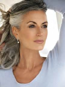 beautiful gray hair streaks 25 best ideas about going gray on pinterest gray hair