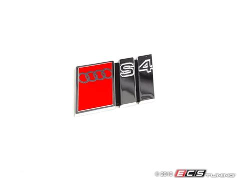 Audi S4 Emblem by Audi B5 S4 2 7t Exterior Emblem 8d9854727g2zz S4