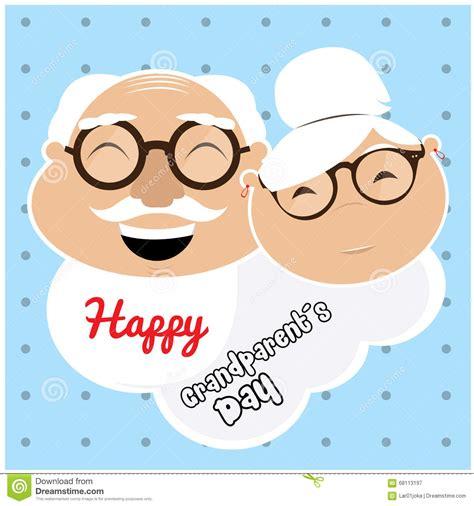 imagenes feliz dia del abuelo d 237 a del abuelo feliz stock de ilustraci 243 n imagen de