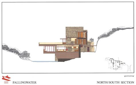 falling water floor plan pdf blog archives the archi blog