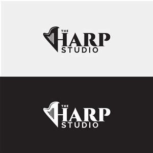 yani hidayat designcrowd logo design for the harp studio by yani hidayat design