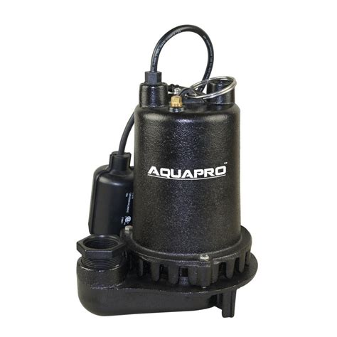 sump pumps wayne 3 4 hp submersible sump cdu980e the home depot