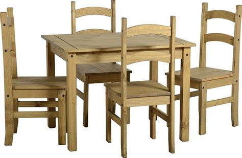 Mexican Pine Dining Table And Chairs Mercers Furniture Corona Mexican Pine Dining Table And Chairs Sets
