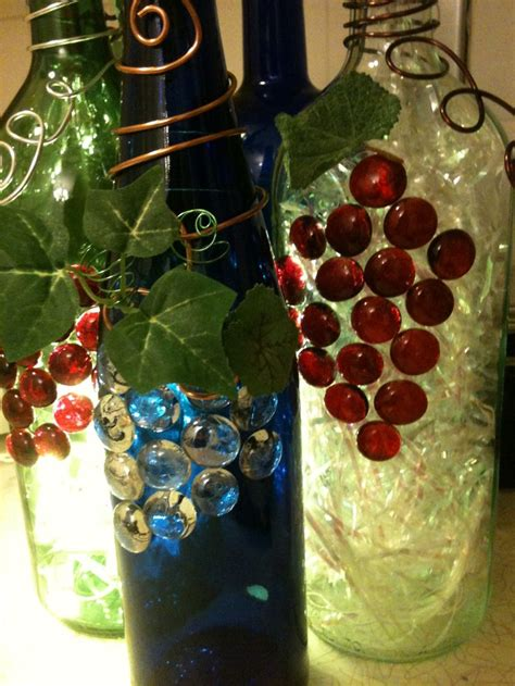 craft lights for wine bottles lighted wine bottles my favorite day reminders pinterest