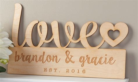 up to 68 custom home decor signs groupon