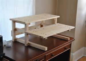Build Standing Computer Desk Best 25 Stand Up Desk Ideas On Diy Standing