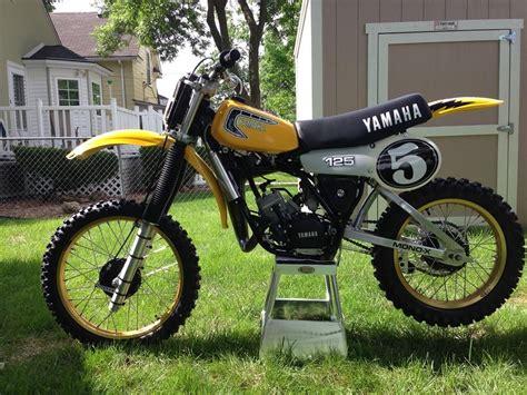 restored vintage motocross bikes for sale 1982 yamaha yz125 nicely restored vintage motocross