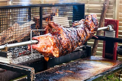 how to roast a pig in your backyard before roasting a pig the pros advise food safety