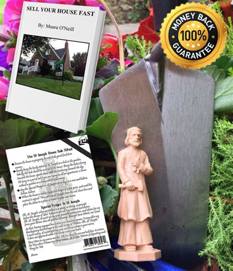 Bury St Joseph In Backyard by Bury The Joseph House Selling Statue For You