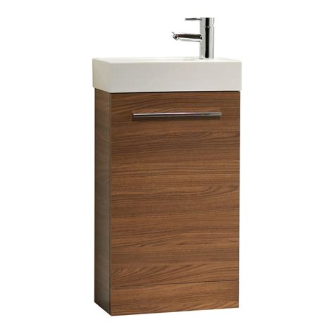 Tavistock Kobe 450mm Walnut Floorstanding Unit And Basin Bathroom Furniture Suppliers