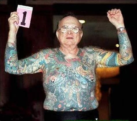 old man with tattoos with tattoos 20 pics